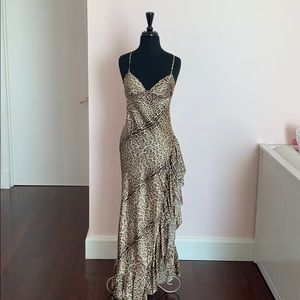 Roberto Cavalli silk evening dress size 42 PERFEcT